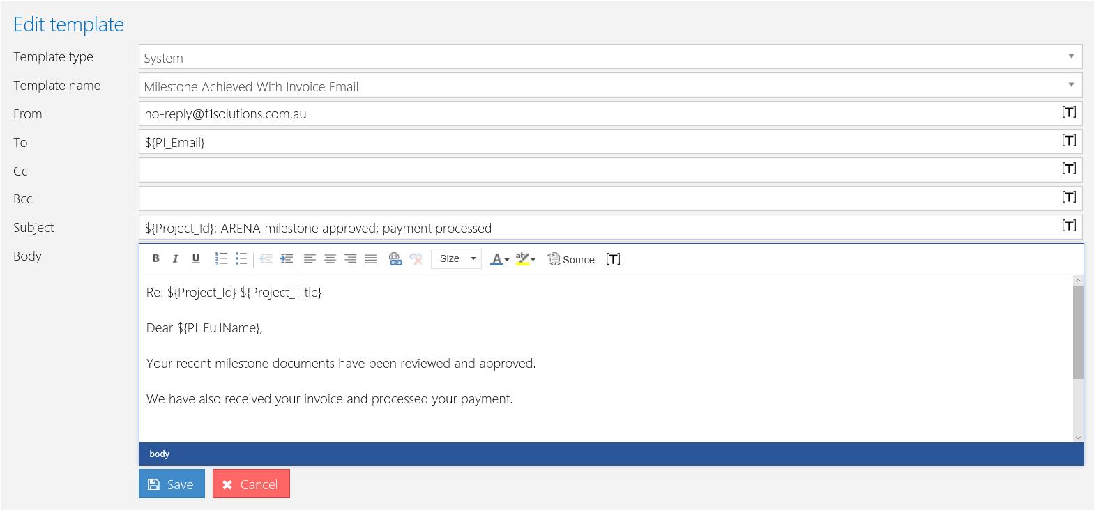 Milestone Achieved With Invoice Email Omnistar Wiki Omnistar Wiki